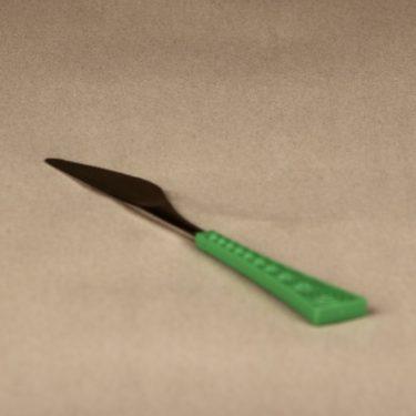 Hackman Colorina knife, green, designer Nanny Still, retro