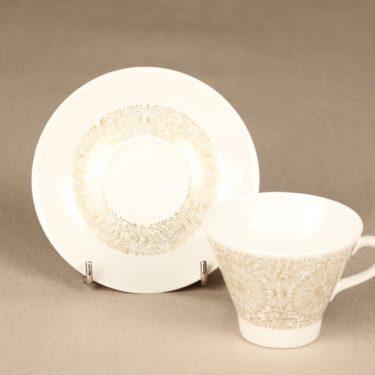 Arabia Filigran kahvikuppi, kulta, suunnittelija Raija Uosikkinen, serikuva kuva 3