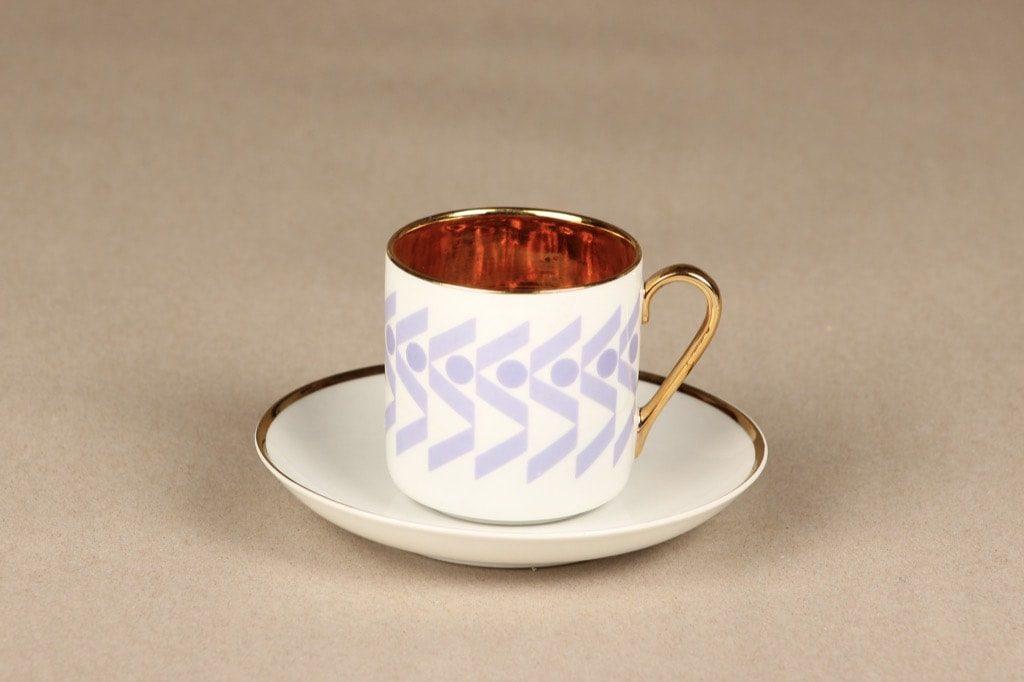 Arabia OC kahvikuppi, suunnittelija Stockmann, serikuva