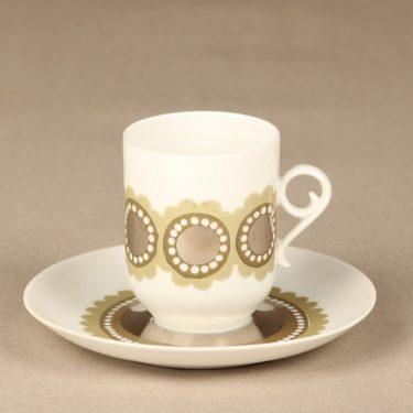Arabia Tanja kahvikuppi, suunnittelija Esteri Tomula, käsinmaalattu kuva 2