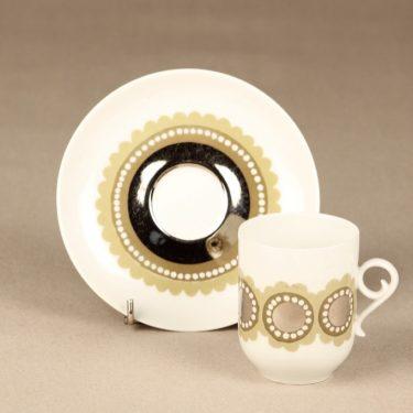 Arabia Tanja kahvikuppi, suunnittelija Esteri Tomula, käsinmaalattu kuva 3