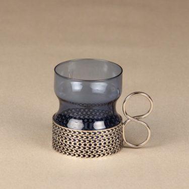 Iittala Tsaikka tea cups, blue, designer Timo Sarpaneva, i-color