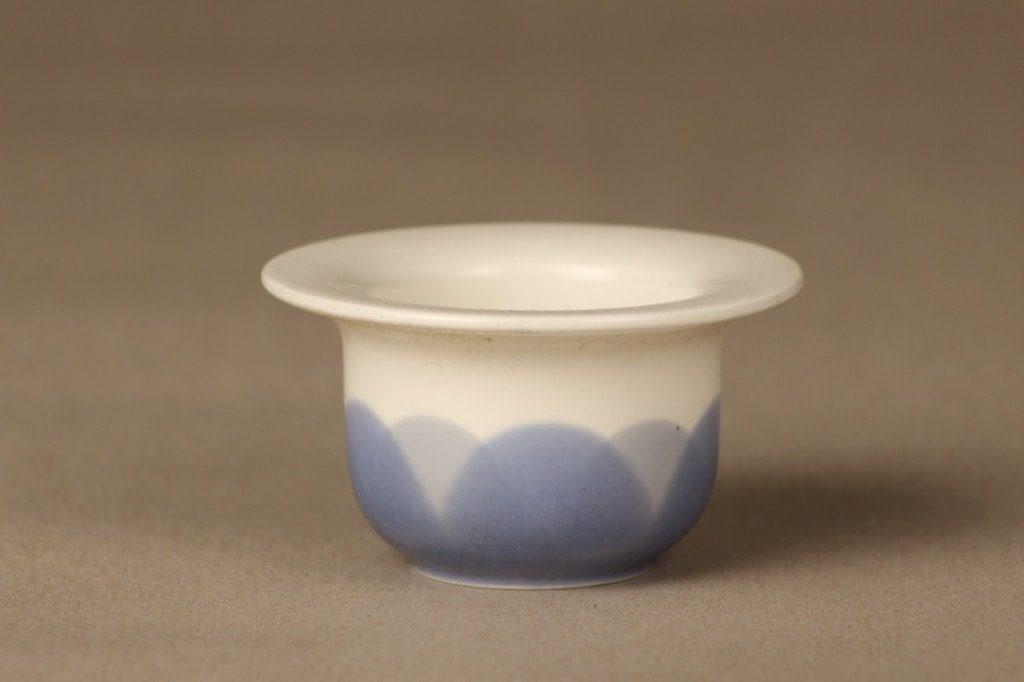 Arabia Arctrica Pudas munakuppi, sininen, suunnittelija Inkeri Leivo, serikuva