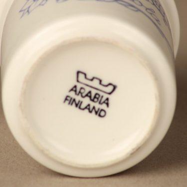 Arabia Sininen spice jar, without a text, designer Raija Uosikkinen, 2