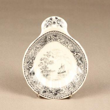 Arabia Maisema osterivati, harmaa, 2 kpl, suunnittelija ,