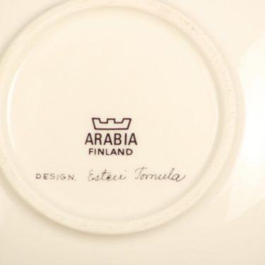 Arabia Botanica koristelautanen, Kielo, suunnittelija Esteri Tomula, Kielo, serikuva, kukka-aihe kuva 2