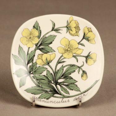 Arabia Botanica wall plate Ranunculus acer designer Esteri Tomula