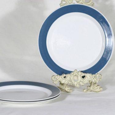 Arabia Palapeli lautaset, matala, 2 kpl, suunnittelija Kaarina Aho, matala