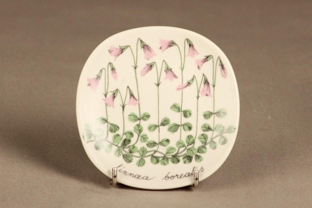 Arabia Botanica wall plate twinflower designer Esteri Tomula