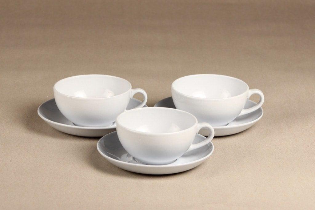Arabia teekuppi, vaaleansininen, 3 kpl, suunnittelija ,