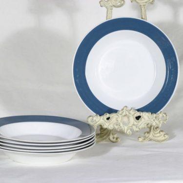 Arabia Palapeli lautaset, syvä, 6 kpl, suunnittelija , syvä