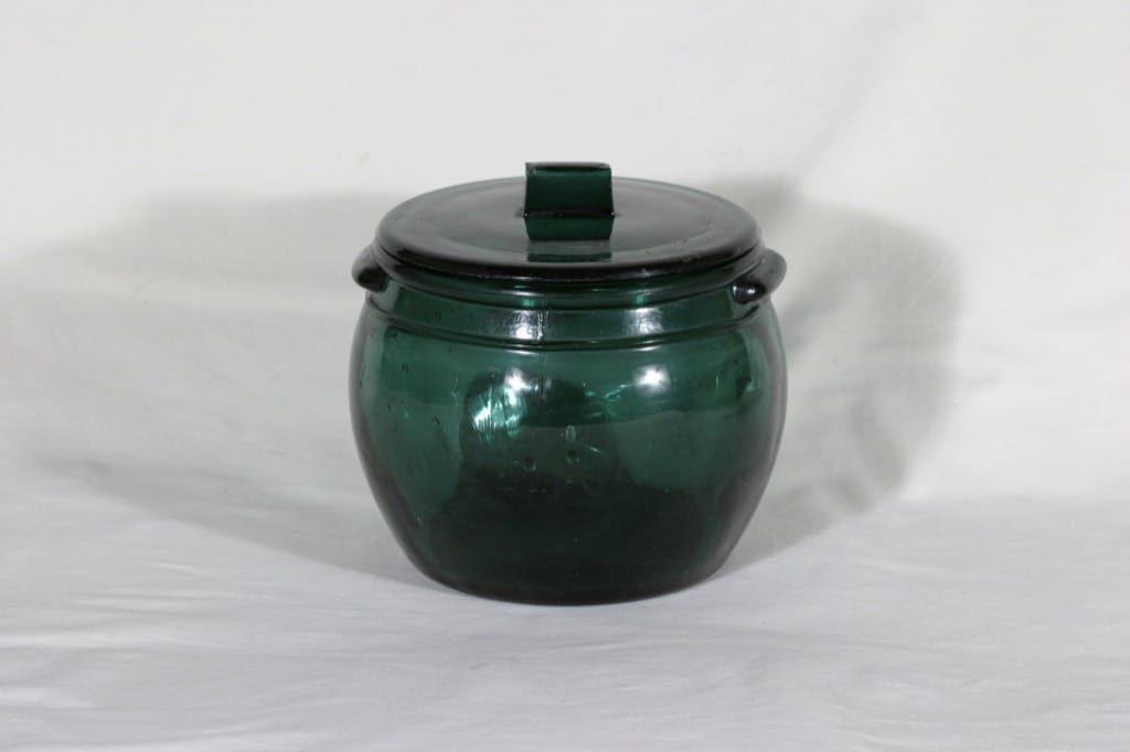 Riihimäen lasi Voitölkki lasikulho kannella, 2.5 l, suunnittelija , 2.5 l