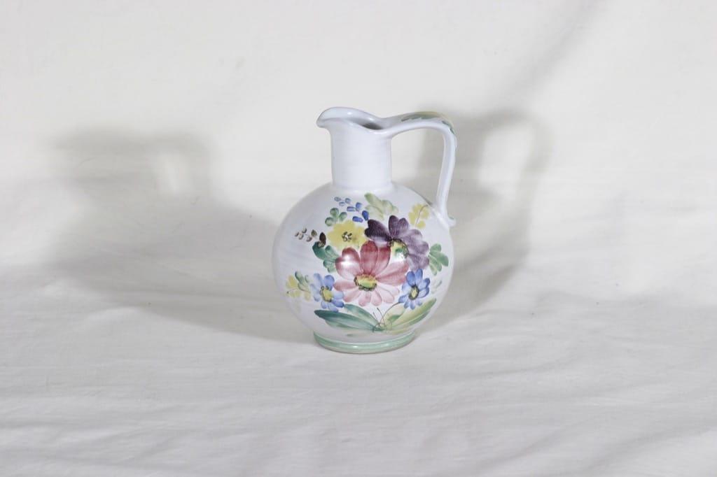Arabia ARA kaadin, käsinmaalattu, suunnittelija , käsinmaalattu, pieni, kukkakuvio
