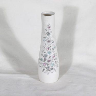 Arabia Fennica maljakko, painettu ja käsinmaalattu, suunnittelija Esteri Tomula, painettu ja käsinmaalattu, signeerattu