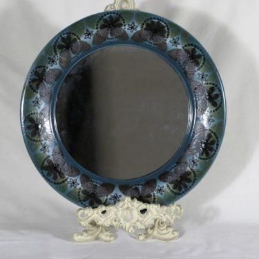 Arabia HLA peili, kukkakuvio, suunnittelija Hilkka-Liisa Ahola, kukkakuvio, signeerattu, käsinmaalattu