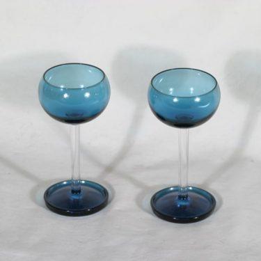 Riihimäen lasi Harlekiini väkeväviinilasit, 7 cl, 2 kpl, suunnittelija Nanny Still, 7 cl
