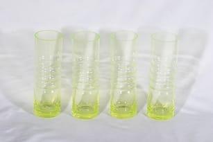 Riihimäen lasi Tzarina mehulasit, 30 cl, 4 kpl, suunnittelija Nanny Still, 30 cl