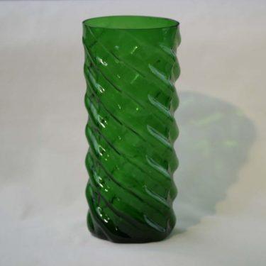 Nuutajärvi maljakko, vihreä, suunnittelija ,