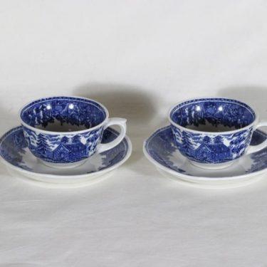 Arabia Maisema kahvikupit, 15 cl, 2 kpl, suunnittelija , 15 cl, kuparipainokoriste