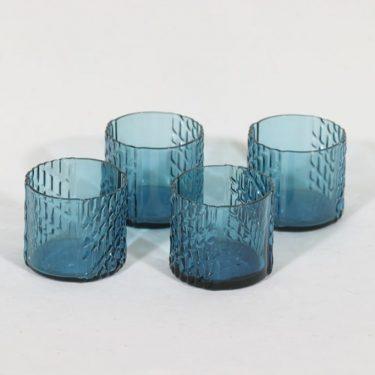 Riihimäen lasi Flindari lasit, 10 cl, 4 kpl, suunnittelija Nanny Still, 10 cl