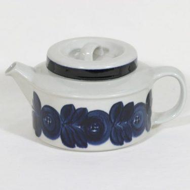 Arabia Anemone teekannu, 1.33 l, suunnittelija Ulla Procope, 1.33 l, käsinmaalattu, signeerattu