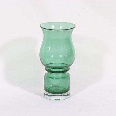 Riihimäen lasi Tulppaani maljakko, vihreä, suunnittelija ,