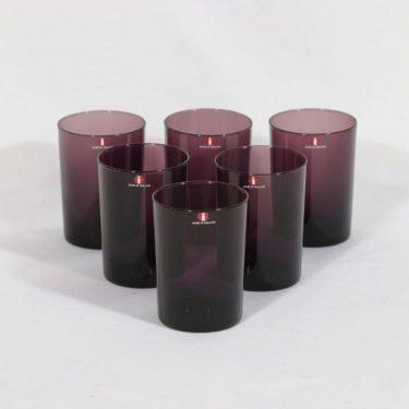 Iittala i-114 lasit, 18 cl, 6 kpl, suunnittelija Timo Sarpaneva, 18 cl