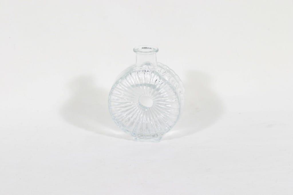 Riihimäen lasi Aurinkopullo koristepullo, kirkas, suunnittelija Helena Tynell, sävy I