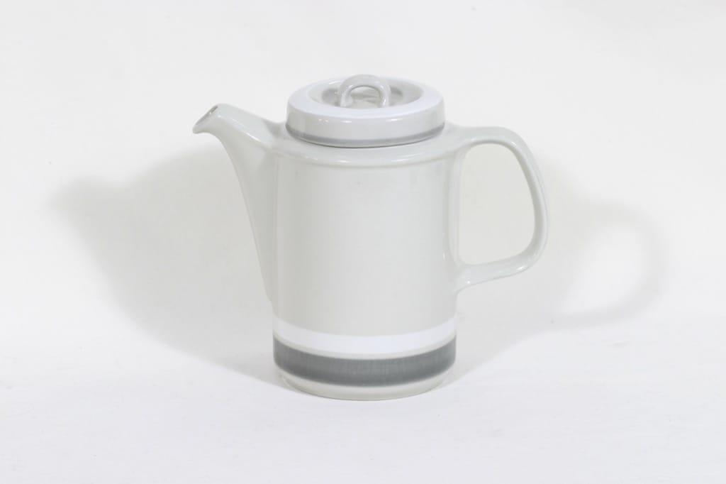 Arabia Salla kahvikannu, 1.3 l, suunnittelija Ulla Procope, 1.3 l, raitakoriste