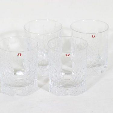 Iittala Kalinka lasit, 20 cl, 4 kpl, suunnittelija Timo Sarpaneva, 20 cl