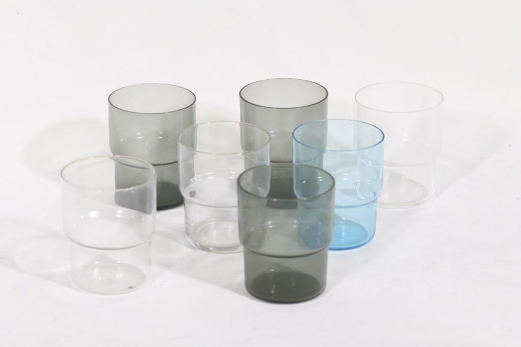 Nuutajärvi Pinottava lasi lasit, 24 cl, 7 kpl, suunnittelija Saara Hopea, 24 cl