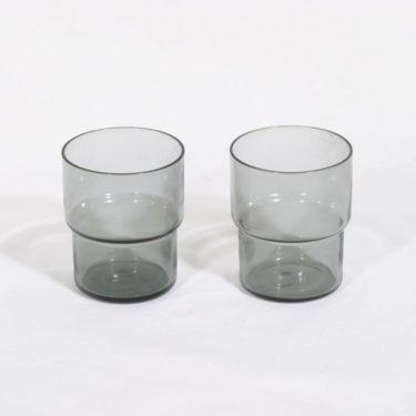 Nuutajärvi Pinottava lasi lasit, 15 cl, 2 kpl, suunnittelija Saara Hopea, 15 cl, keskikoko
