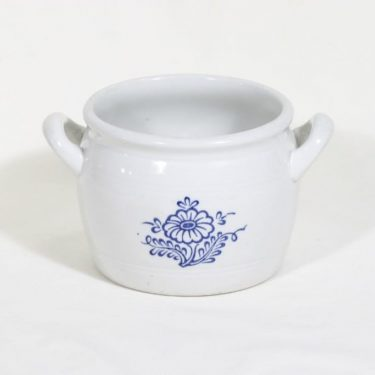 Arabia B 1 ruukku, 1 l, suunnittelija , 1 l, kukkakuvio