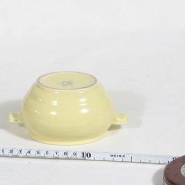 Arabia ML sokerikko, keltainen, suunnittelija , koristelematon kuva 2