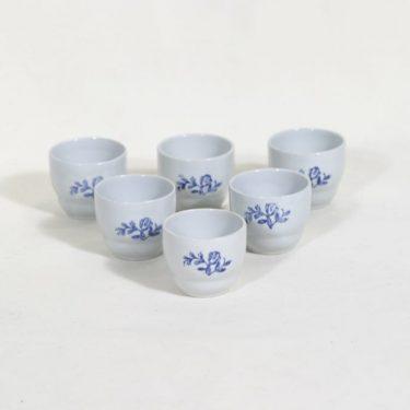 Arabia ML munakupit, kukkakuvio, 5+1 kpl, suunnittelija , kukkakuvio