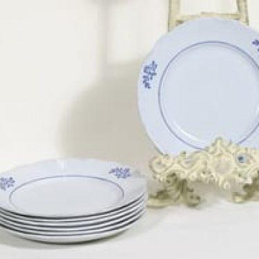 Arabia RL leivoslautaset, kukkakuvio, 7 kpl, suunnittelija , kukkakuvio