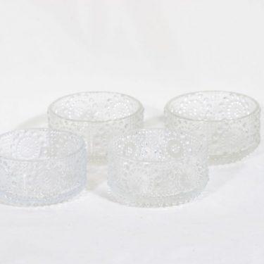 Riihimäen lasi Grapponia annoskulhot, 18 cl, 4 kpl, suunnittelija Nanny Still, 18 cl