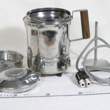 El-Rod Maija pulputuskahvinkeitin, 1.5 l, suunnittelija , 1.5 l, kromattu kuva 2
