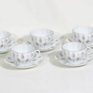 Arabia Sulka kahvikupit, 5 kpl, suunnittelija , siirtokuva