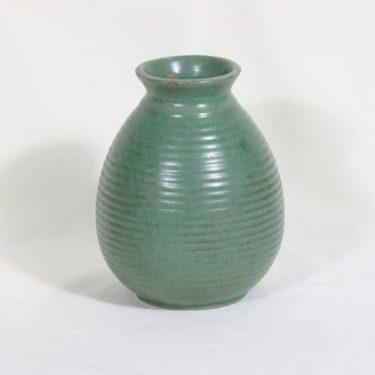 Kupittaan savi 240 maljakko, vihreä, suunnittelija , koristelematon