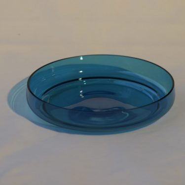 Riihimäen lasi Pomona lasimalja, suunnittelija Helena Tynell,