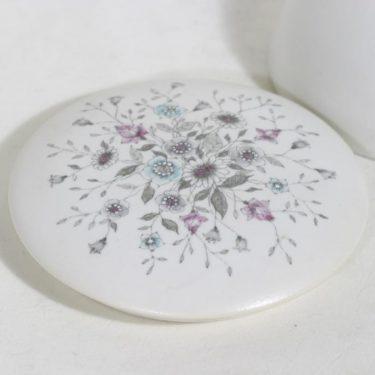 Arabia Fennica rasia, painettu ja käsinmaalattu, suunnittelija Esteri Tomula, painettu ja käsinmaalattu, signeerattu kuva 2