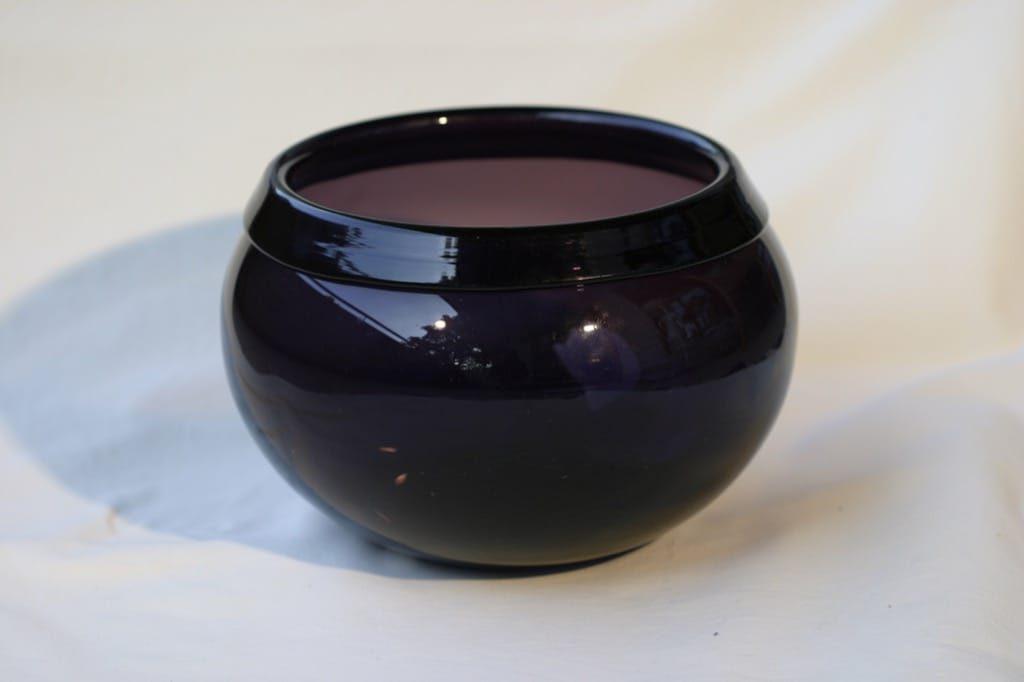 Iittala i-302|2302 lasimalja, suunnittelija Timo Sarpaneva,