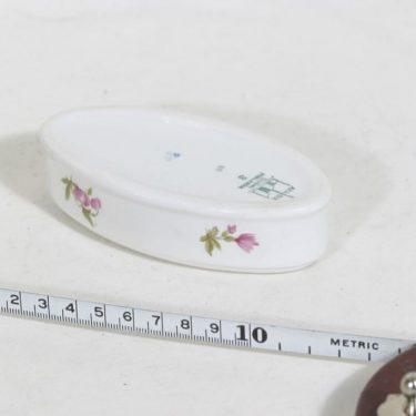 Arabia FL2 tuhka-astia, kukkakuvio, suunnittelija , kukkakuvio, pieni, siirtokuva kuva 2