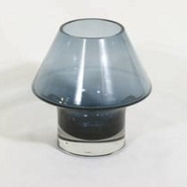 Riihimäen lasi Stromboli maljakko, signeerattu, suunnittelija Aimo Okkolin, signeerattu