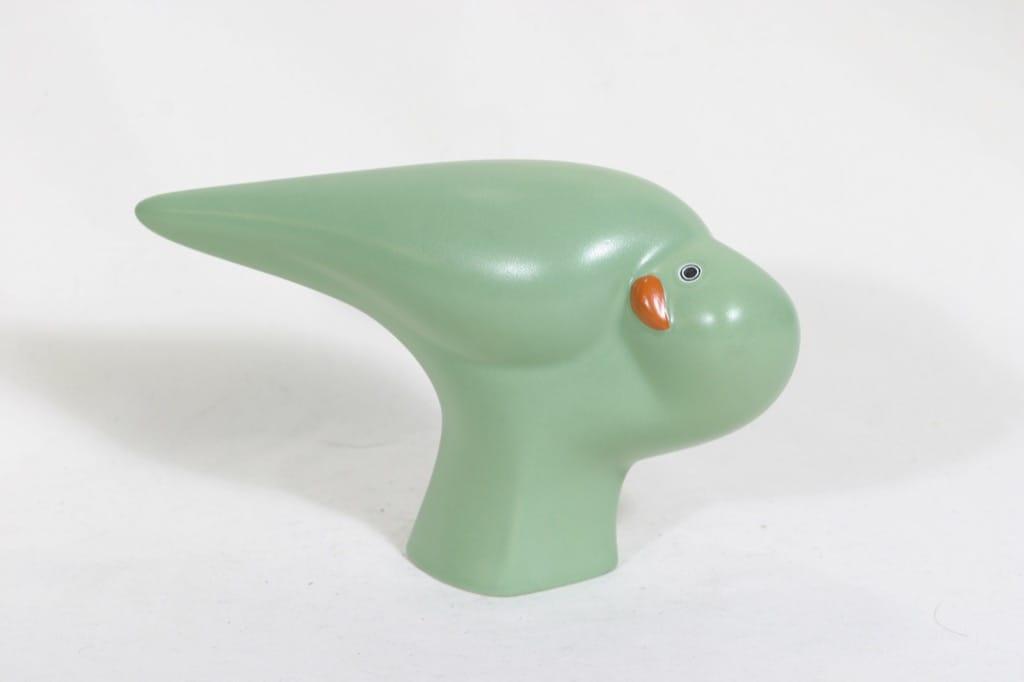 Arabia koristelintu, vihreä, suunnittelija Howard Smith,