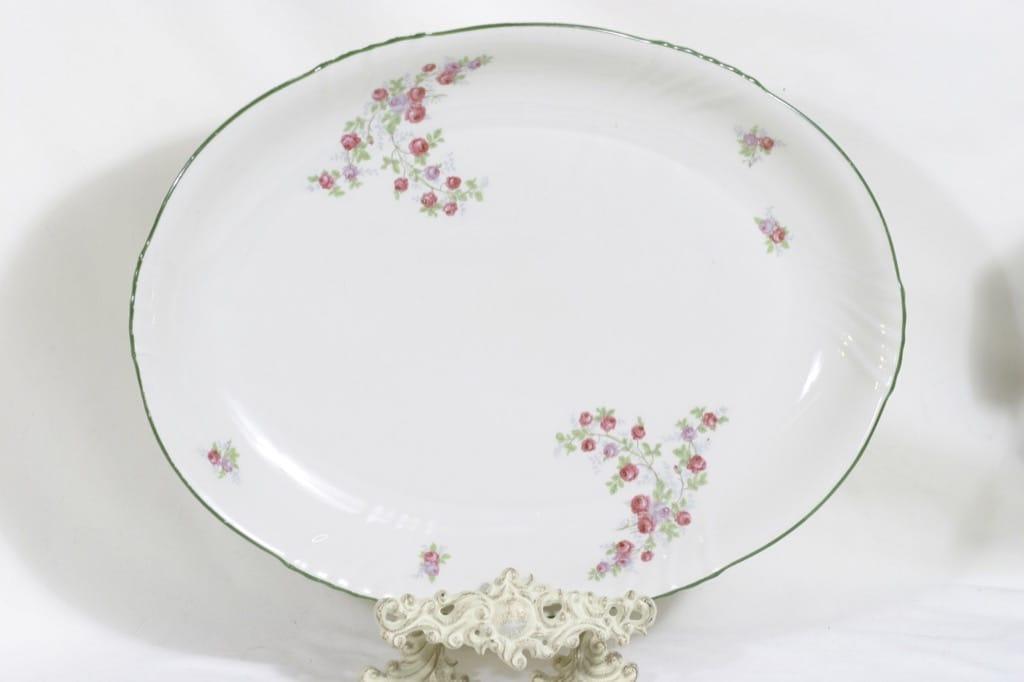 Arabia RE vati, kukkakuvio, suunnittelija , kukkakuvio, suuri, soikea, siirtokuva