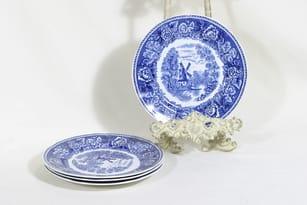 Arabia Maisema dinner plates 4 pcs, copper ornament