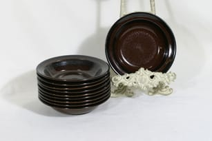 Arabia Soraya soup plates, 10 pcs, designer Gunvor Olin-Grönqvist
