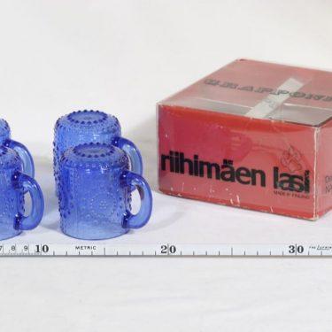 Riihimäen lasi Grapponia kupit, 10 cl, 4 kpl, suunnittelija Nanny Still, 10 cl kuva 2